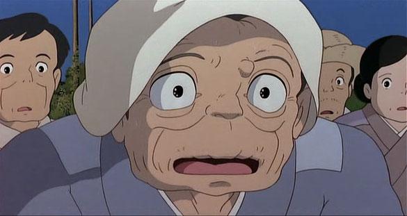 となりのトトロのおばあちゃん