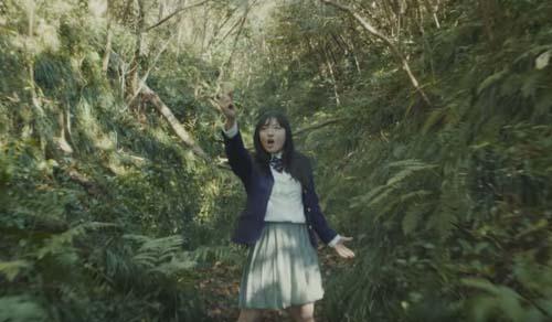 ジャングルの中の鈴木瑛美子