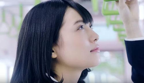 JR東日本のCMの松永有紗
