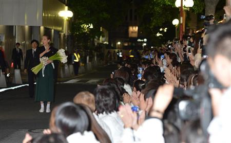 柚希礼音のサヨナラパレード