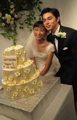 東出昌大と杏の結婚式
