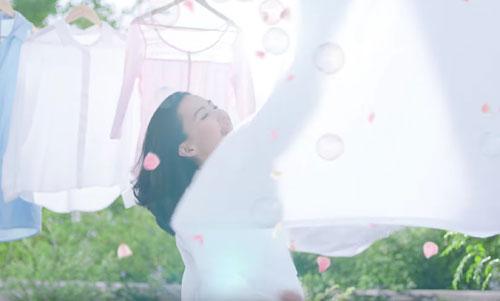 ニュービーズのCMの木村佳乃8