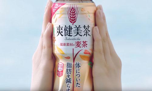 爽健美茶の麦茶のCM1