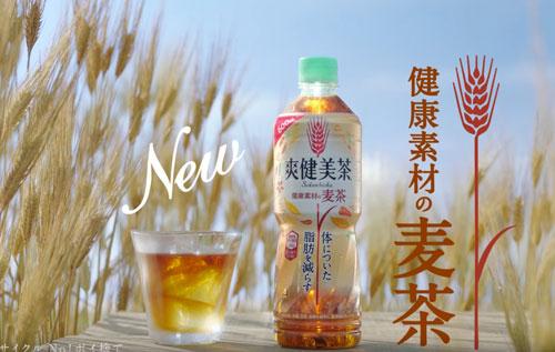 爽健美茶の麦茶のCM7