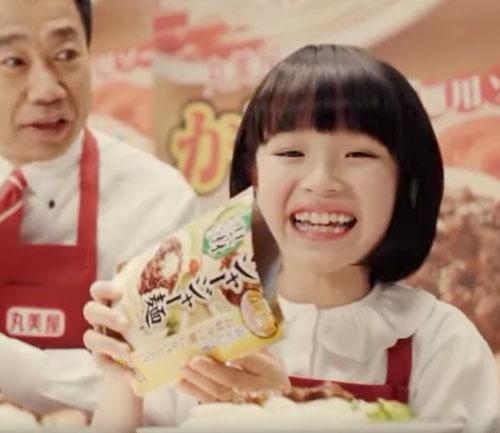 丸美屋かけうま麺用ソースのCM4