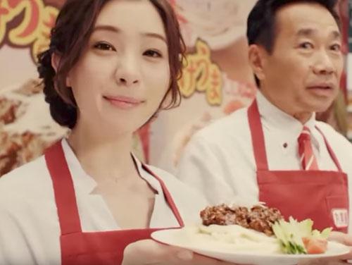 丸美屋かけうま麺用ソースのCM5