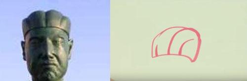 カズレーザーの絵と比較