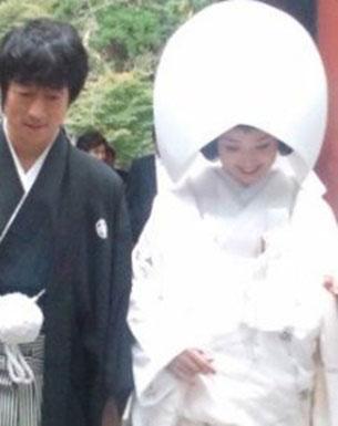 永作博美の結婚式