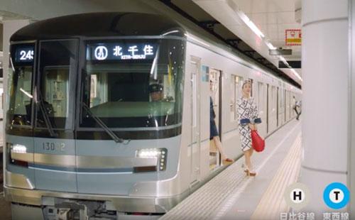 東京メトロのCM1