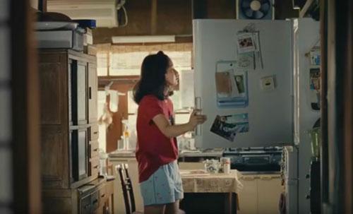 カロリーメイトゼリー冷蔵庫のCM1