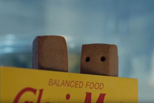 カロリーメイトゼリー冷蔵庫のCM7