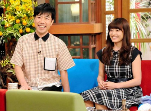 さんまのまんまの藤井隆と乙葉