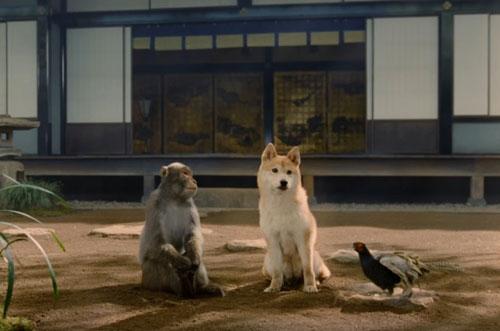 au犬猿キジのCM5