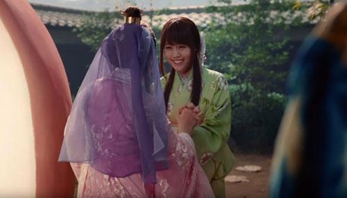au織姫のCM5