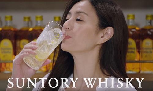 サントリーウイスキーのCM13