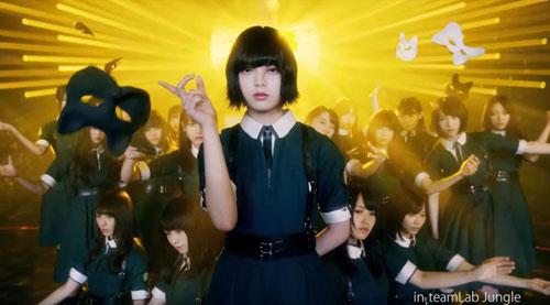 欅坂46バイトルのCM2