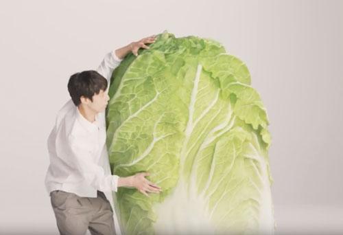 坂口健太郎八宝菜のCM2