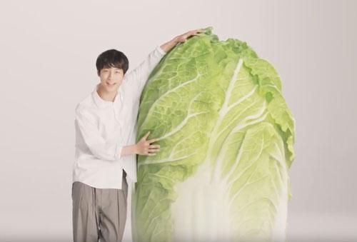 坂口健太郎八宝菜のCM3