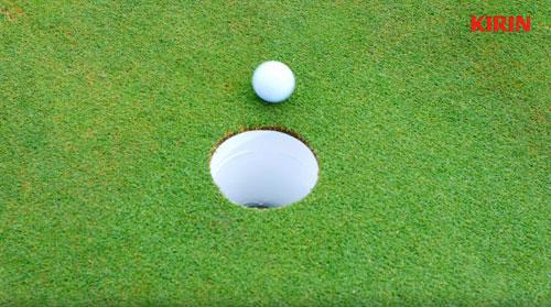 一番搾りゴルフのCM3