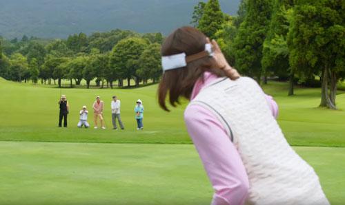 一番搾りゴルフのCM4
