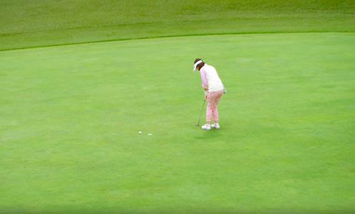 一番搾りゴルフのCM6