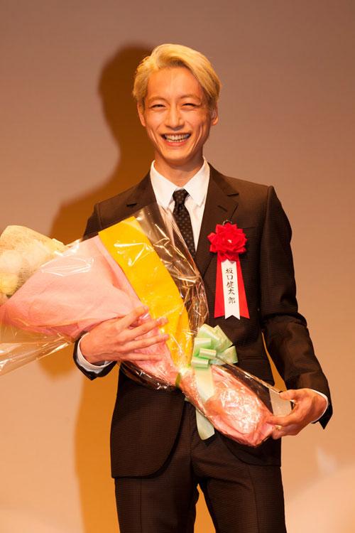 エランドール授賞式の坂口健太郎