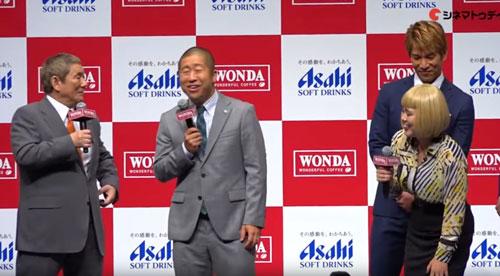 wondaのCM発表会