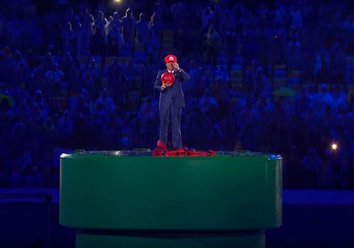 リオオリンピックの閉会式