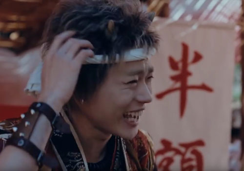 au三太郎CM3