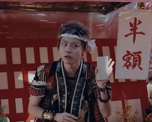 au三太郎CM6