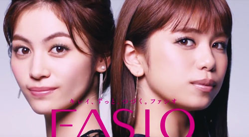 ファシオE-girlsのCM6