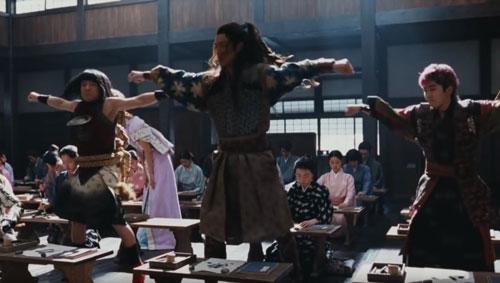 au三太郎ダンスのCM4