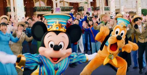 ディズニー35周年のCM2