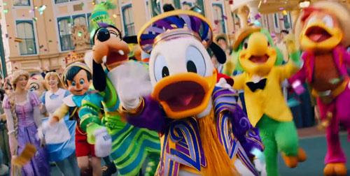 ディズニー35周年のCM3