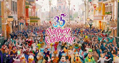 ディズニー35周年のCM6