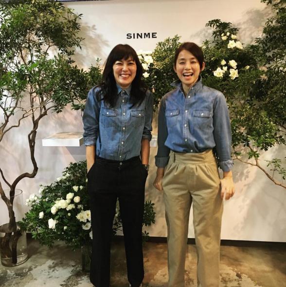 板谷由夏と石田ゆり子