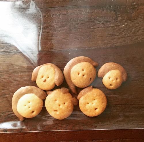 岸井ゆきののクッキー