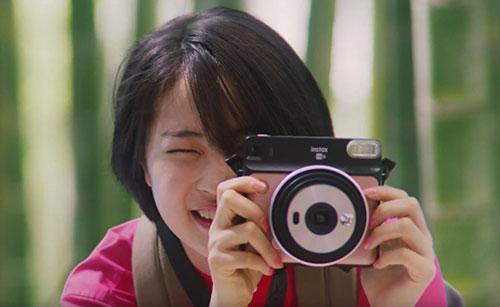 富士フィルムチェキのCM4