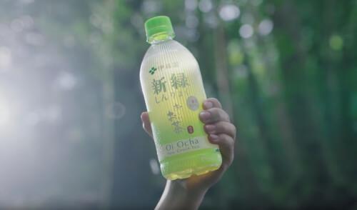お〜いお茶新緑のCM3