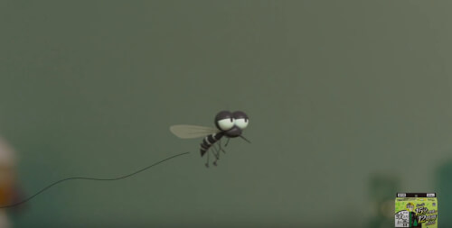 蚊とりお香のCM1