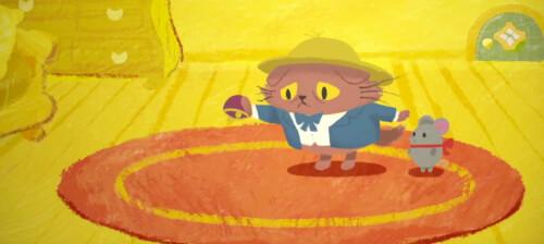 猫のニャッホCM1