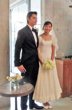 杏と東出昌大の結婚式
