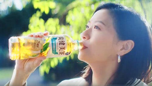 爽健美茶のCM7