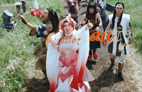 三太郎CMの巨大化した親指姫