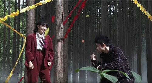 niko and ...のCMのメイキング