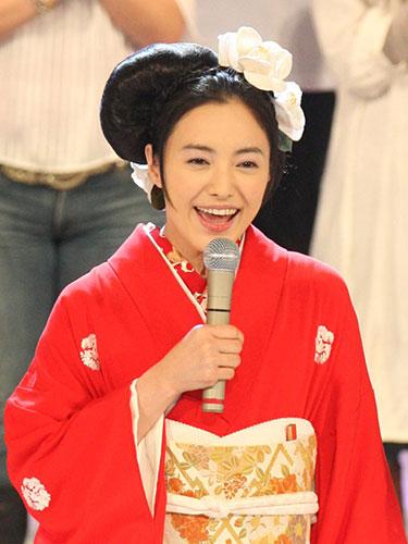 紅白歌合戦の仲間由紀恵