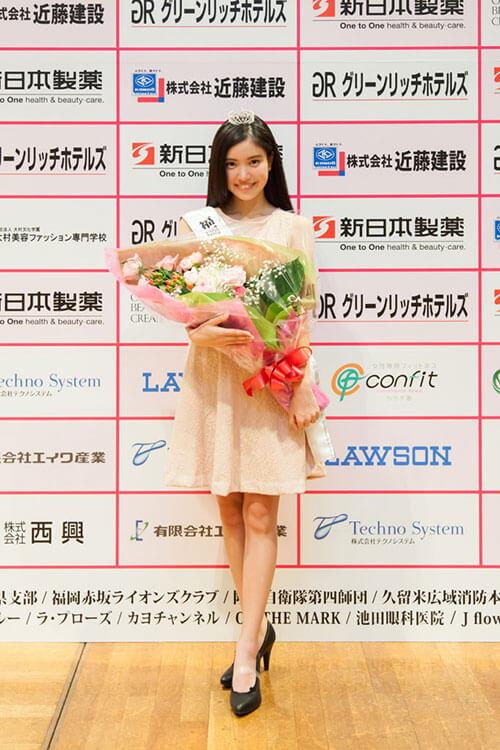 福岡ティーングランプリの立木綾乃